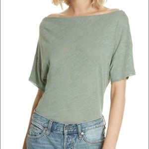 Free People She's So Cool Off the Shoulder Top (D)